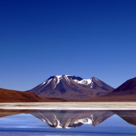 Bolivia lac salé